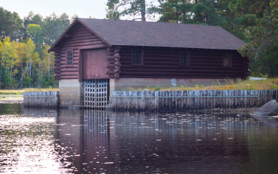 Lac La Croix Guard Boathouse – Boundary Waters Canoe Wilderness Area